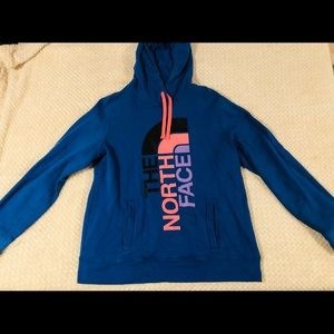 Blue North Face Hoodie